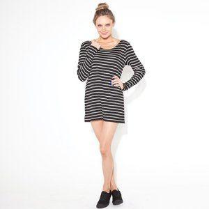 MINKPINK Striped Long Sleeve Dress